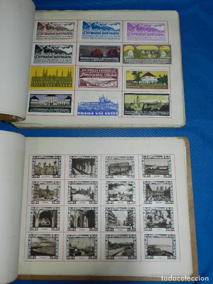 Sellos: (M) LOTE DE 1662 VIÑETAS DE TURISMO DE TODO EL MUNDO AÑOS 30 A LOS AÑOS 50 ( 2 ALBUMES ) - Foto 2 - 93685930