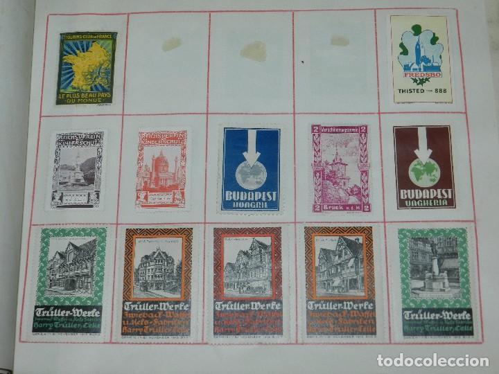 Sellos: (M) LOTE DE 1662 VIÑETAS DE TURISMO DE TODO EL MUNDO AÑOS 30 A LOS AÑOS 50 ( 2 ALBUMES ) - Foto 24 - 93685930
