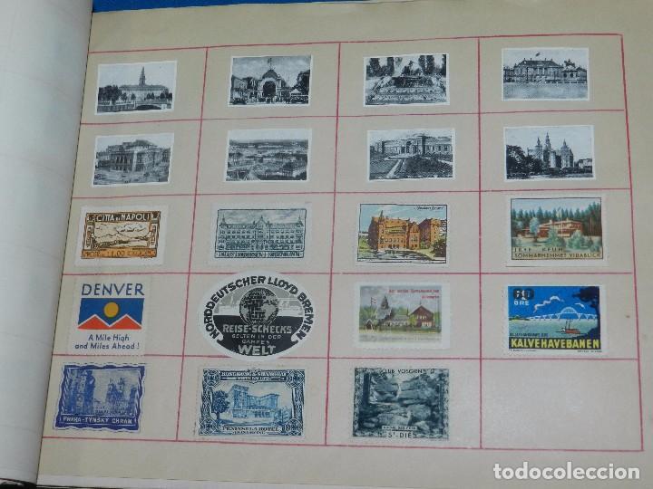 Sellos: (M) LOTE DE 1662 VIÑETAS DE TURISMO DE TODO EL MUNDO AÑOS 30 A LOS AÑOS 50 ( 2 ALBUMES ) - Foto 27 - 93685930
