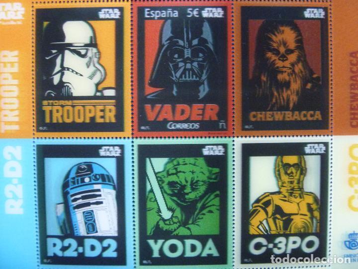 Sellos: Star Wars sellos holográficos más regalo reloj Star Wars R2D2 - Foto 6 - 94651347