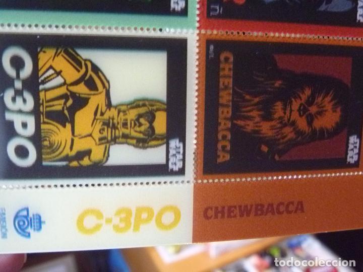 Sellos: Star Wars sellos holográficos más regalo reloj Star Wars R2D2 - Foto 7 - 94651347