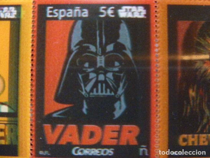 Sellos: Star Wars sellos holográficos más regalo reloj Star Wars R2D2 - Foto 9 - 94651347