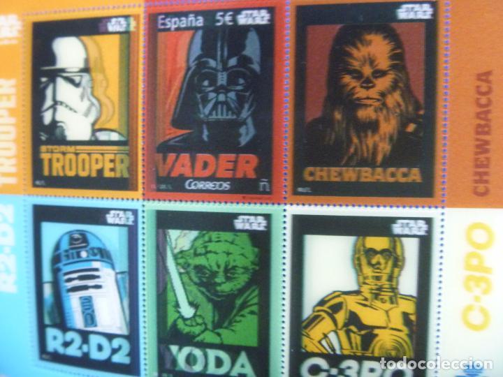 Sellos: Star Wars sellos holográficos más regalo reloj Star Wars R2D2 - Foto 10 - 94651347