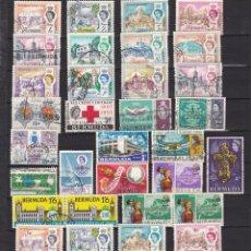 Sellos: BERMUDA - GRAN BRETAÑA POSESIONES NUEVOS Y USADOS LOTE 6. Lote 98242507