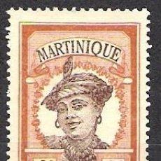 Sellos: MARTINICA 1908 - SCOTT 62 - NUEVO. Lote 98429795