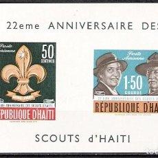 Sellos: HAITI 1962 - HOJITA - NUEVO. Lote 98758775