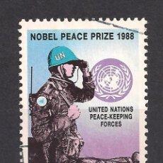 Sellos: NACIONES UNIDAD 1989 - USADO. Lote 98947099