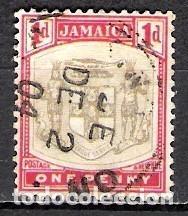 JAMAICA 1903 - USADO (Sellos - Extranjero - América - Otros paises)