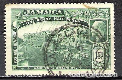 JAMAICA 1919 - USADO (Sellos - Extranjero - América - Otros paises)