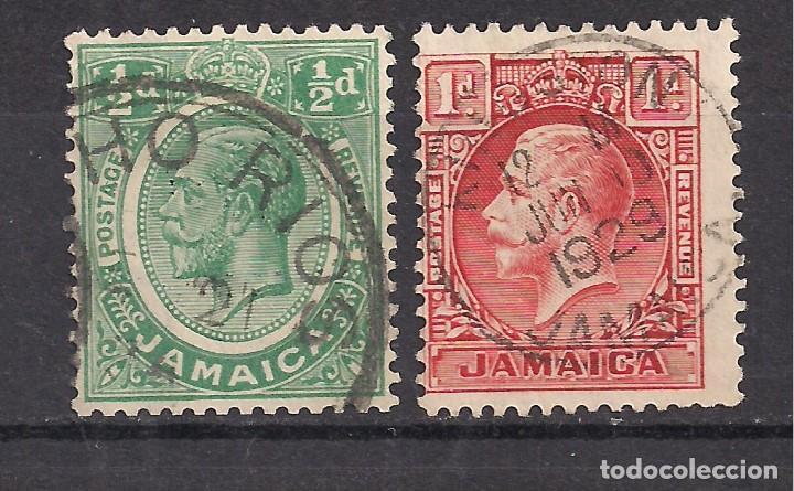 JAMAICA - JORGE V - USADO (Sellos - Extranjero - América - Otros paises)