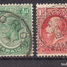 Sellos: JAMAICA - JORGE V - USADO. Lote 99201199