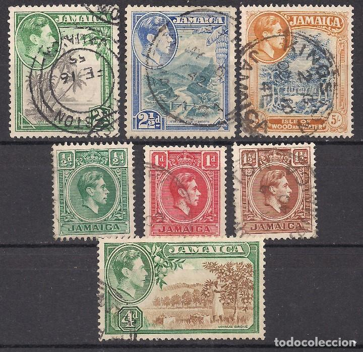 JAMAICA 1938 - USADO (Sellos - Extranjero - América - Otros paises)