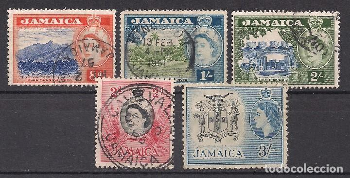 JAMAICA 1956 - USADO (Sellos - Extranjero - América - Otros paises)