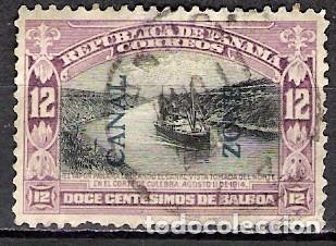 PANAMA 1918 - USADO (Sellos - Extranjero - América - Otros paises)