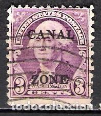 PANAMA, CANAL 1933 - USADO (Sellos - Extranjero - América - Otros paises)