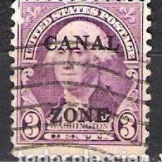 Sellos: PANAMA, CANAL 1933 - USADO. Lote 99207587