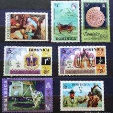Sellos: DOMINICA - SELLOS NUEVOS Y USADOS. Lote 100071771