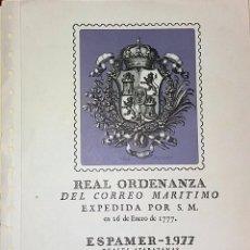 Sellos: ESPAMER 77 2º CENTENARIO CORREO DE INDIAS F.N.M.T.. Lote 100177211