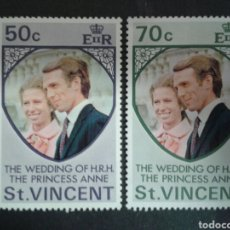 Stamps - SAN VICENTE. YVERT 340/1. SERIE COMPLETA NUEVA SIN CHARNELA. - 100192719