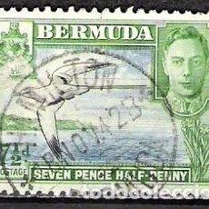 Sellos: BARMUDA 1938 - USADO. Lote 100287311