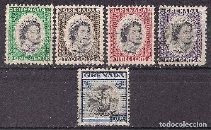 GRANADA 1953 - USADO (Sellos - Extranjero - América - Otros paises)