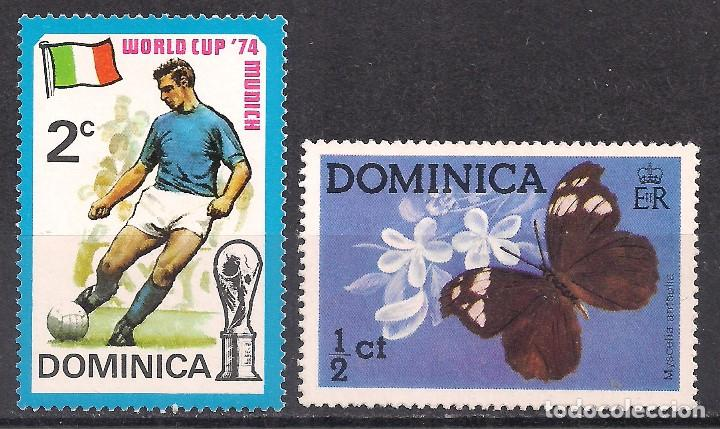 DOMINICA 1974-1975 - NUEVO (Sellos - Extranjero - América - Otros paises)