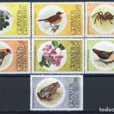 Sellos - Granada & Granadinas 1975 Ivert 132/8 * Fauna y Flora - 101307819