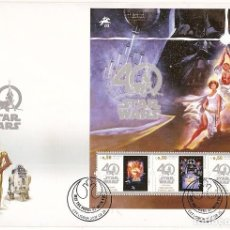 Sellos: PORTUGAL & FDCB 40 ANOS STAR WARS 2017 (722) . Lote 130765343