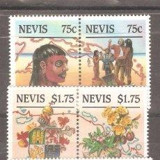 Sellos: NEVIS,1986,CAT.MI.381/386.. Lote 102267119