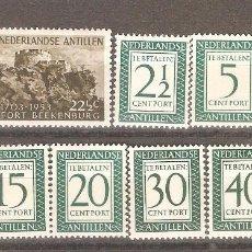Sellos: ANTILLAS HOLANDESAS,1953,AÑO COMPLETO.. Lote 102508527