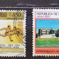 Sellos: HONDURAS - SELLOS USADOS. Lote 103943495