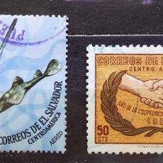 Sellos: EL SALVADOR - SELLOS USADOS. Lote 103944231