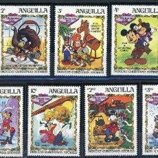 Sellos: ANGUILLA 1983 IVERT 506/14 * NAVIDAD - HISTORIAS DE NAVIDAD DE CHARLES DICKENS. Lote 105481195