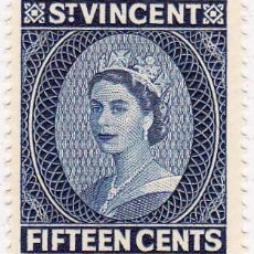 Stamps - 1955 - SAN VICENTE - ISABEL II - MICHEL 174 - 105707623