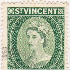 Stamps - 1955 - SAN VICENTE - ISABEL II - MICHEL 175 - 105707655