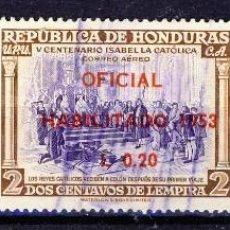 Sellos: HONDURAS.- (1). Lote 109297471