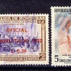 Sellos: HONDURAS.- (3). Lote 109298535