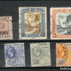 Sellos: LOTE SELLOS GUYIANA BRITISH GUIANA COLONIAS. Lote 109383871