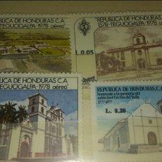 Sellos: 4 SELLOS NUEVOS HONDURAS. Lote 110247698