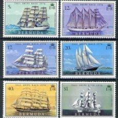 Sellos: BERMUDA 1976 IVERT 325/30 * CARRERA DE GRANDES VELEROS - BARCOS. Lote 111171803