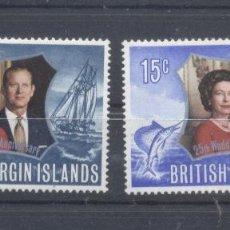 Sellos: ISLAS VIRGENES BRITANICAS,1972 NUEVOS. Lote 112608027