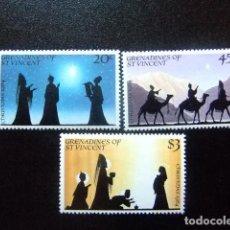 Sellos: GRENADINES OF ST VINCENT 1982 NAVIDAD NOEL CHRISTMAS YVERT Nº 263 / 265 ** MNH. Lote 112694283