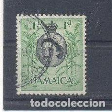 Sellos: JAMAICA,1956/58, USADO. Lote 112878763