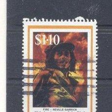 Sellos: JAMAICA,1995, BOB MARLAY,USADO. Lote 112882247