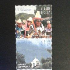 Sellos: EL SALVADOR. YVERT 1555/8. SERIE COMPLETA NUEVA SIN CHARNELA. TURISMO. Lote 113037711