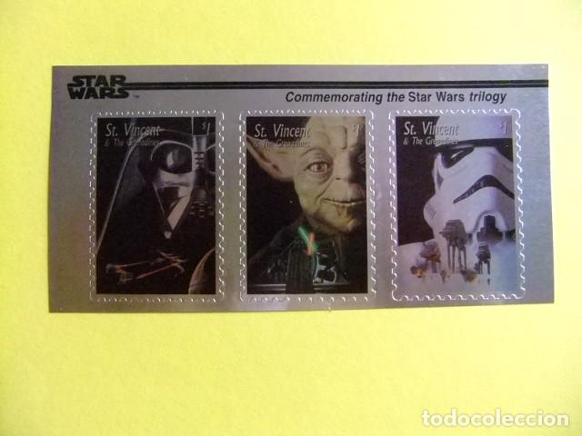 Sellos: ST. VINCENT the GRENADINES 1996 STAR WARS TRILOGY Yvert 2796 / 2798 ** MNH - Foto 1 - 113463471