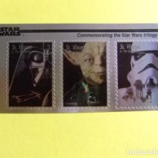 Sellos: ST. VINCENT THE GRENADINES 1996 STAR WARS TRILOGY YVERT 2796 / 2798 ** MNH. Lote 113463471