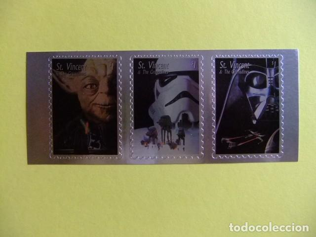 Sellos: ST. VINCENT the GRENADINES 1996 STAR WARS TRILOGY Yvert 2796 / 2798 ** MNH - Foto 1 - 113463515