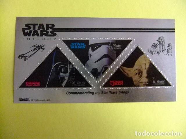 ST. VINCENT THE GRENADINES 1996 STAR WARS TRILOGY JEDI - EMPIRE YVERT 330 ** MNH (Sellos - Extranjero - América - Otros paises)