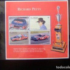 Sellos: ST. VINCENT THE GRENADINES 1996 RICHARD PETTY YVERT 2907 / 2910 ** MNH. Lote 113470419